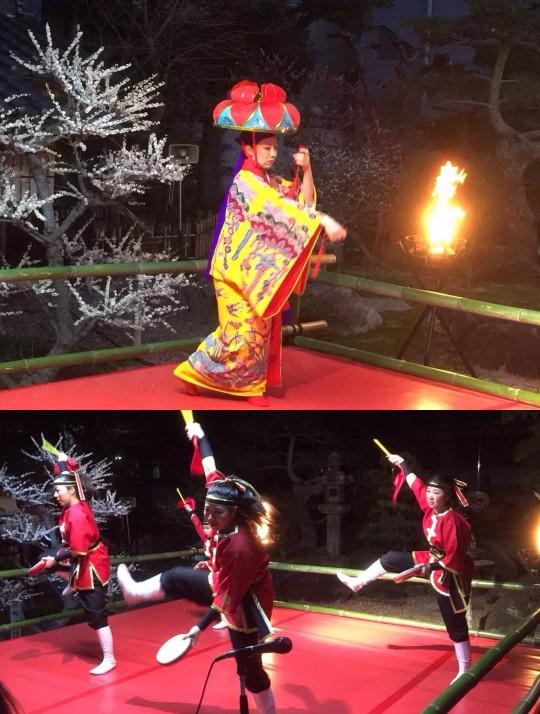 沖縄舞踊とエイサー